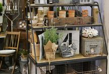 OHC | Our Gardening Style / Ah...love is antique and vintage garden décor for your house.