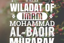 Imam Mohammad al-Baqir (a.s.) / The fifth rightly successor of Holy Prophet (sawa). He (as) done a revolutionary work in his (as) time by spreading the actual knowledge of his (as) great grandfather Holy Prophet (sawa).