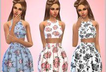 Sims 4 ubrania