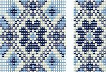 Bead looming designs