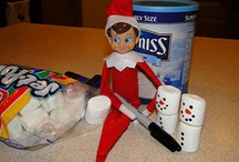 Elf on the Shelf Ideas / Stuff that our elf, Scout did this year, and some other ideas I found to try in the future. / by Chris McNeal