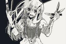 Dark Manga Girl / Déconseillé pour les plus jeunes    Not recommended for younger children
