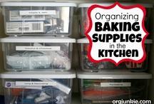 Organizing - Kitchen / by Joni Whitfield