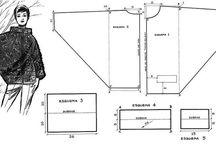 Vzory, postupy / vzory (rozpísané, ukážky, znázornené) na háčkovanie, pletenie a iné druhy