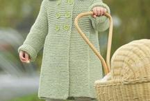 Little girls' knits
