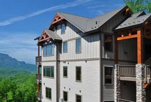 Places to Stay: Chalakee,  a resort in Echota  / Chalakee, Echota's newest neighborhood rests on a dramatic plateau moments from Echota on the Ridge and features incomparable views of Grandfather Mountain and a host of upgrades including rugged timber frame construction, custom cabinetry, granite counter tops, and built in outdoor grills. Amenities in this gated resort rival the world's finest mountain resorts-including  an indoor  pool and a mountain top outdoor pool with  hot tubs, two private clubhouses, fitness centers, stocked fishing pon