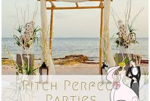 Pitch Perfect Parties / we plan and arrange all your party needs for you. whether it is birthday parties, events, bridal showers, bachelorette, baby showers etc.