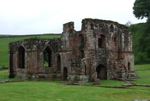 Abbey Ruins of England / Every ruin has a dramatic & poignant story. Read my series on the monastic ruins of England: http://nancybilyeau.blogspot.com/2014/02/rufford-abbey-errant-monks-and-ghost-of.html