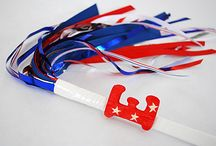 Fourth of July DIY & Crafts / Simple and clever crafts, recipes and patriotic decorations to celebrate America ...and my husband Shane's birthday too! / by Kathy Beymer from Merriment Design
