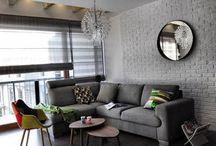 Interior/Mieszkanie dwupoziomowe - eklektyczne/ duplex apartment - eclectic / zdjęcia realizacji / project's pictures