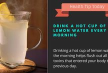Health Tip Today / Daily health tip. Improve your overall health by doing little things daily.
