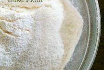 Homemade cake flour
