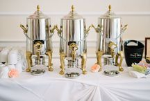 wedding cake tea accessories