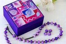 Pink & Purple / Jewellery and trinket boxes