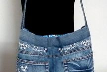 Jean brodé, embroidered jeans