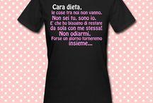 T-shirt donna mezza manica / T-shirt donna mezza manica personalizzabili!