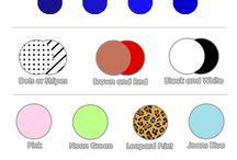 Colours matches