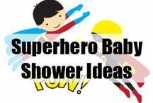 Superhero Baby Shower