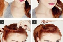 Pin up hairstyles / Pin up & vintage hairstyles