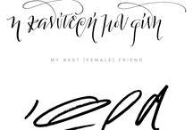 greek fonts + calligraphy