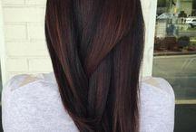 Păr brunet