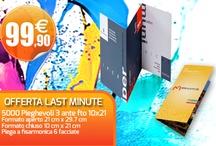 Offerte Last Minute / Scopri le nostre offerte dell'ultimo minuto su www.iprintdifferent.com