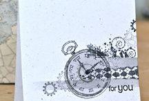 Clockworks SU Retired / SU stamp set