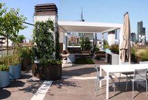 My works / terrazze, giardini, garden designer