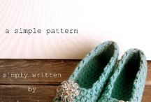 Crochet shoes and slippers / by Grace Konzelman