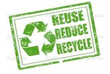 Sustainable Living #1: Reuse & Recycle Art / Reduce, reuse, recycle! Creative ideas to find new uses for old things