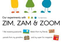 OKIDO Zim, Zam & Zoom / Experiments and questions with Zim, Zam & Zoom / by OKIDO Magazine