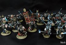 Showcase Grey Knights / Fully magnetized and painted Grey Knight's Army