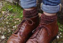 shoe + sock