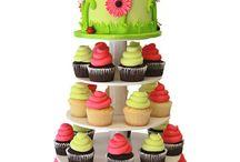 tower birthday cupcakes