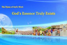 """The Hymn of God's Word """"God's Essence Truly Exists""""   The Church of Almighty God"""