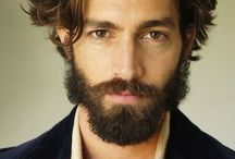 Man Hairstyles and Beards