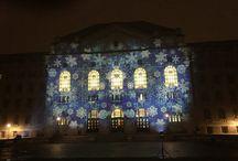 Debreceni Egyetem / University of Debrecen Gólyabál 2015 - Night Projection fényfestés / Debreceni Egyetem / University of Debrecen Gólyabál 2015 - Night Projection fényfestés