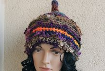 Pixie hat, gnom,elf / the world of fairy tales, a collection of moss and ferns