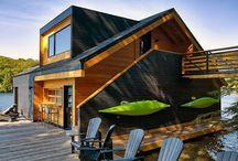 Modern Lake Homes
