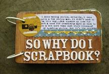 Mini albums Scrapbooking / Algunas ideas y tutoriales para hacer tu próximo mini album en scrapbooking.