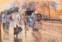 Childe Hassam - streets