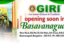 GIRI's new branch @ Basavanagudi / GIRI's new branch @ Basavanagudi, Bengaluru will coming soon