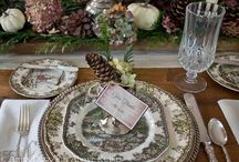 Tablescape and tableware