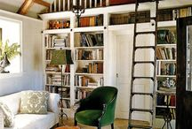 Home Libraries / Great spaces to curl up with a book!