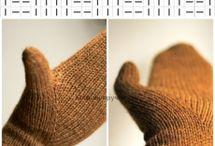 варежки, перчатки спицами