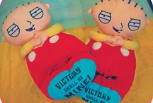 Stewie Slippers / Slippers of Family Guy's Stewie Griffin. / by Crazy For Bargains Pajamas