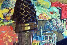 -Colors- / Color paintings of Pandazis George. http://pantazisgeorge.blogspot.gr/