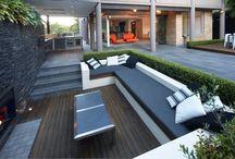 Sunken patios