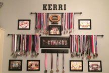 Lauren's gymnastics bedroom