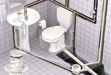instalación del baño